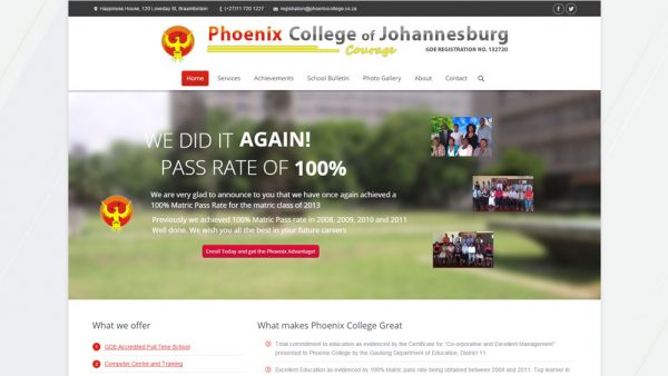 Our Work - Phoenix College